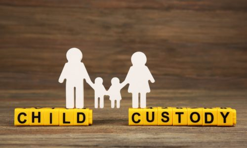 child custody concept